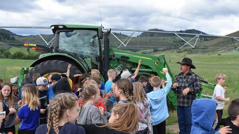 Ag day bigger 2019 Willie Duguay