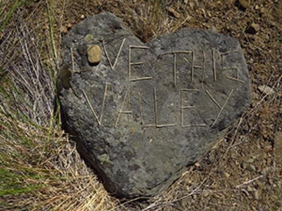 Love This Valley heart rock JP