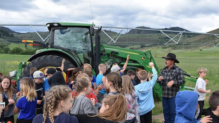 Fourth Graders Get Ag-Cited in the Methow Valley