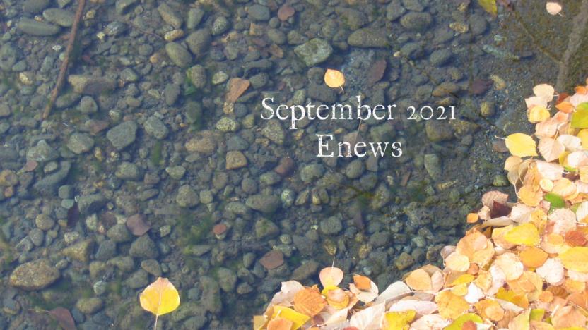 September 2021 Enews